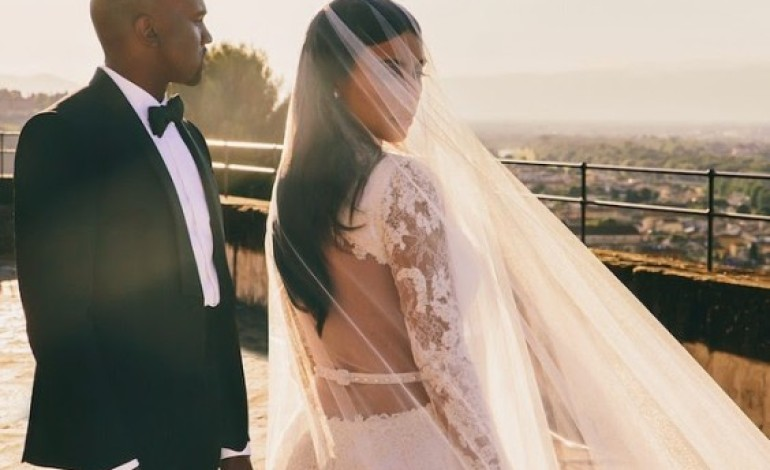 Kim Kardashian Shares Unseen Wedding Photograph On Instagram