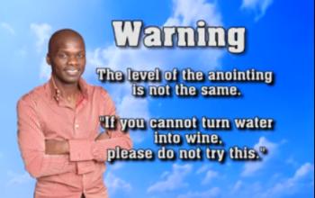 SHOCKING! Pastor Lesego has congregation drink petrol(Photos & Video)