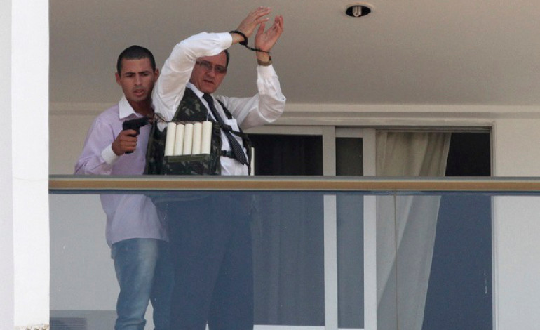 Elsewhere In The World: Gunman Straps Hostage With Explosive Suicide Vests At Brazilian Hotel