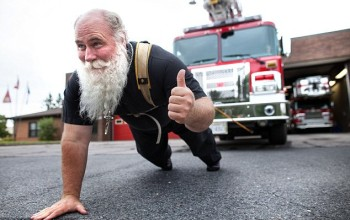 Meet World's Strongest Priest Who Pulls Planes, Ships and Trains