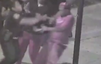 OMG! Police Brutality: Baltimore Cop Sucker-Punches Man, Falsifies Charges [VIDEO]