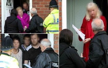 Rude awakening: Nightmare neighbours handed warnings and eviction notices at their homes