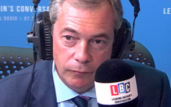 UKIP Farage Was Attacked By HIV Patient Over Migrant Comments [Video]