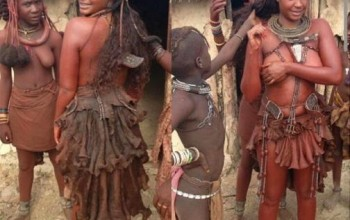 BBA winner Dilish bares boobs in traditional Himba Culture wear