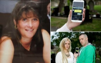 Really! Family who sent texts to mobile buried with late gran get replies 'from beyond grave'
