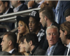 Beckham With Beyonce And Jay-Z Watching PSG Demolish Barca