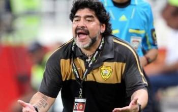 Video: Maradona Caught Hitting Girlfriend