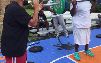 Photos: Rick Ross upping his game to lose more weight