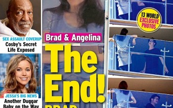 See Intouch mag's headline after those pics of Angelina & Brad Pitt 'arguing' on hotel balcony
