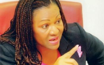 Nigerian Female Senator Beats UP PDP Chairman During Congress