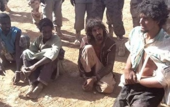 Picture of the arrested Boko Haram men?
