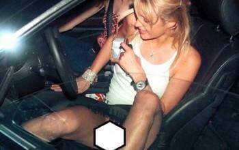 Popular Female Celebrity, Paris Hilton Steps Out Without Underw ear Again, Opens L egs [PHOTOS]