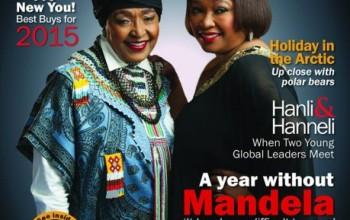 Life after Nelson Mandela! Winnie Mandela and Zindzi Mandela Cover Forbes Woman Africa December 2014/January 2015 Issue