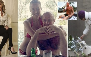 'I am distraught by the sudden loss of my best friend': Agony of death plunge tycoon Scot Young's reality TV star girlfriend who stood by him during bitter divorce case that cost him £25m