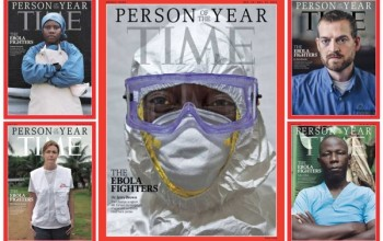 Time Magazine Reveals their 'Person of the Year' Cover – Honour Goes to the Ebola Fighters