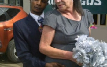 Nigerian Man 28, Marries 71-Year-Old White Lady