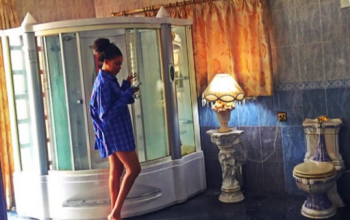 Dabota Lawson Aku shows off inside her massive bathroom
