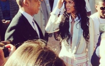 OMG: Rihanna Parties With Jay Z Br aless (See PHOTOS)