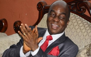 OMG!  Bishop Oyedepo's Anger-War Sermon Against The North & Boko Haram, Watch VIDEO