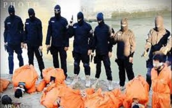 Gruesome Photos Of ISIS About To Execute 8 Iraqi Police Officers Released