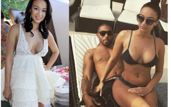 See any difference? Reality star Draya claims to have removed her implants