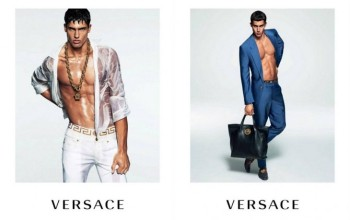 Too Hot For Words! Versace Mens Releases Spring Sumner 2015 Campaign