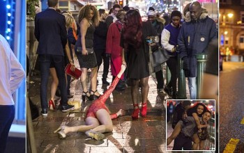 How thousands around the country enjoyed their New Year celebrations a bit too much