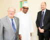 Buhari meets with EU election monitoring team (photos)