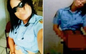 Female Cop Suspended After Photos Of Her Performing S ex Act Go Viral