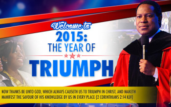 Welcome to 2015: The Year of Triumph And Happy New Year!
