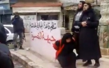 The execution that sickened even ISIS: Woman accused of adultery shot by Al Qaeda in Syria