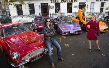 Meet the British playboy who boasts of his jetset lifestyle mixing with supermodels, royalty and pop stars