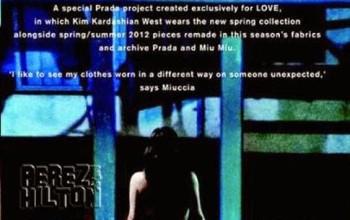 Not again! Kim Kardashian gets completely na ked for Prada