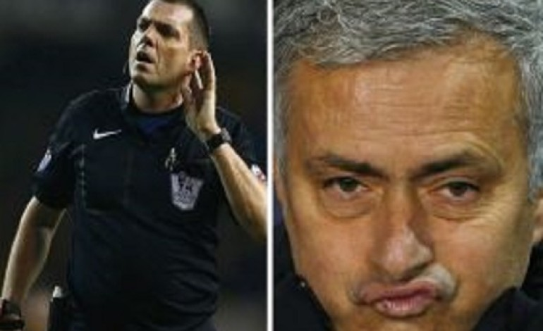 "Mourinho Attacks Referee Phil Dowd: ""You're Too Fat To Referee, You Should Retire"""