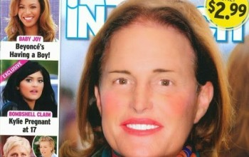Lol! Bruce Jenner covers InTouch magazine...as a woman!