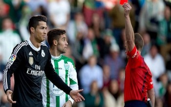 Cristiano Ronaldo Faces Possible 12 Match Ban For On-Pitched Outburst On Edimar?