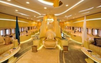OMG! See inside Saudi Prince Alwaleed bin Talal's private jet