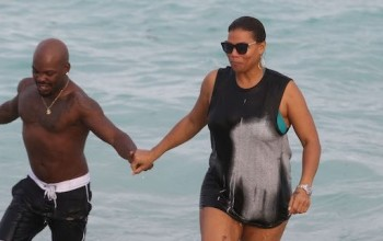 Delivert? Queen Latifah Seen Hand-In-Hand With A Man On South Beach, watch video                                [Photos]