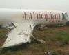 Photos: Ethiopian aircraft crash lands at Ghana airport