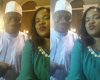 Really! Toyin Aimakhu takes a selfie with president Jonathan, See Picture