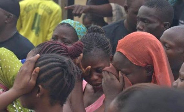 Photos: Protests against LUTH after woman detained for unsettled hospital bill dies