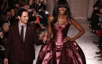 SUPER NAOMI! Naomi Campbell Stuns In A Zac Posen's Piece At New York Fashion Week || Makes Grand Entrance