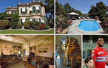 Photos: Samuel Eto'o buys £18.5m mansion in Italy
