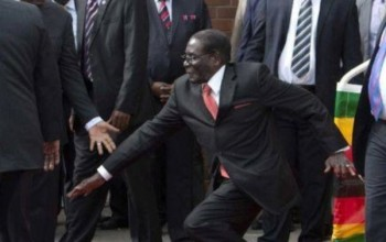 27 of Mugabe's Guards Suspended Over His Embarrassing Fall