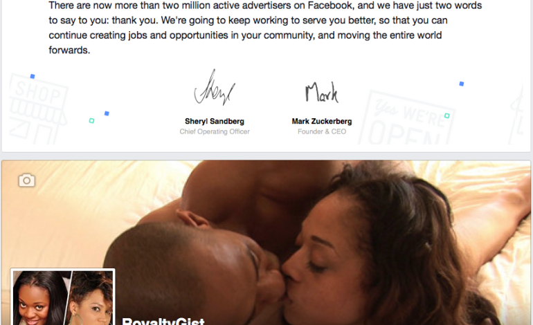 """Facebook Thanks RoyaltyGist For The Good Work! See """"Picture"""""""