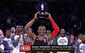 NBA: Russell Westbrook Is MVP As West Defeats East 163 – 158 [Full Highlights]