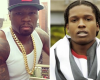 50 Cent comes for A$AP Rocky after he tries to holla at his ex-gf
