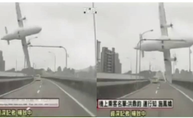 Video: TransAsia plane crashes in Taiwan river- 15 killed, 30 missing
