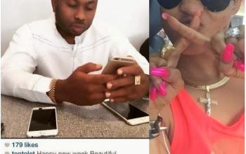 Tonto Dikeh finally unveils her boyfriend, the famous Mr X