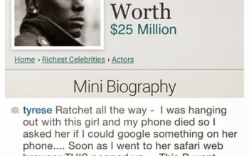 lmao... Singer Tyrese Calls Out Lady who Googled his Net Worth before Hanging Out with Him
